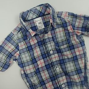 Carter Long Sleeve Button Up